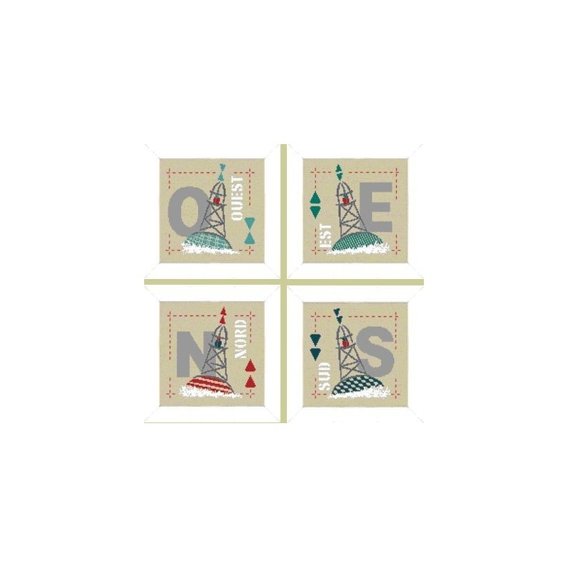 Les 4 cardinales - Lilipoints
