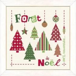 Lilipoints - Forêt de Noël