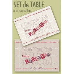 Lilipoints - Set de table