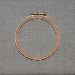 Tambour à broder en bois diamètre 10cm