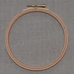 Tambour à broder en bois diamètre 12cm