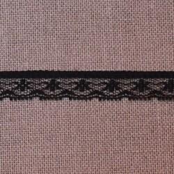 Dentelle polyester noire - marque Frou-Frou
