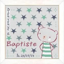 Baptiste dans les étoiles - Lilipoints