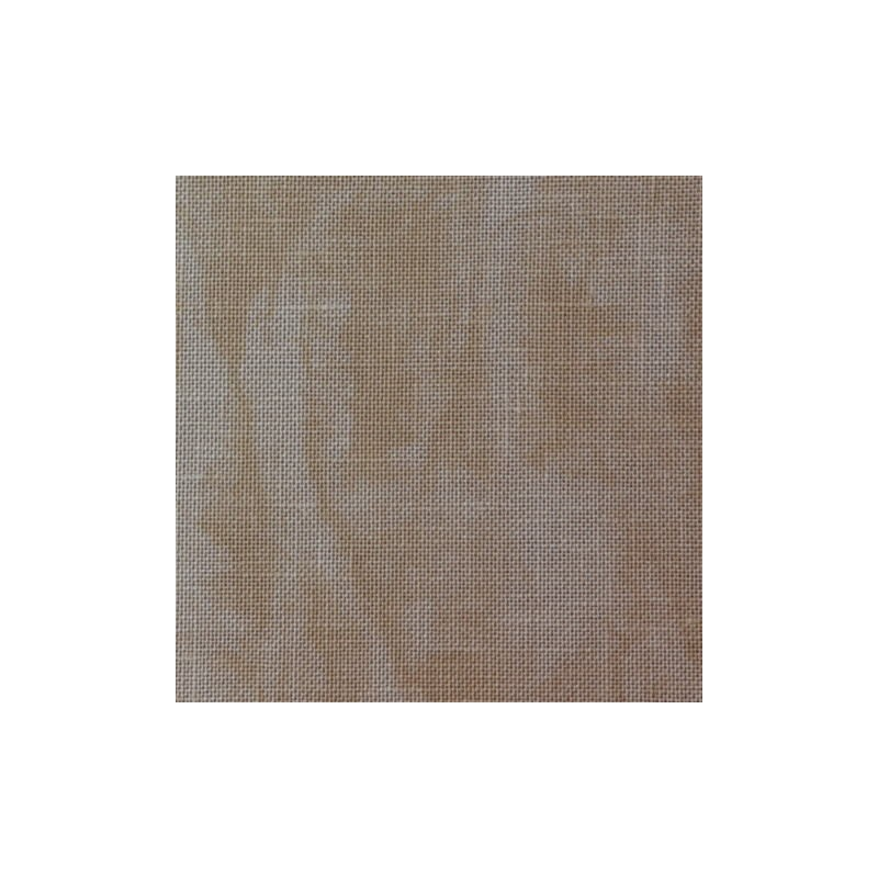 Lin Zweigart Belfast 12,6fils/cm 35x45cm sable marbré