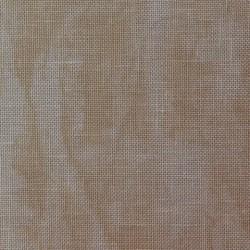 Lin Zweigart Belfast 12,6fils/cm 50x70cm sable marbré