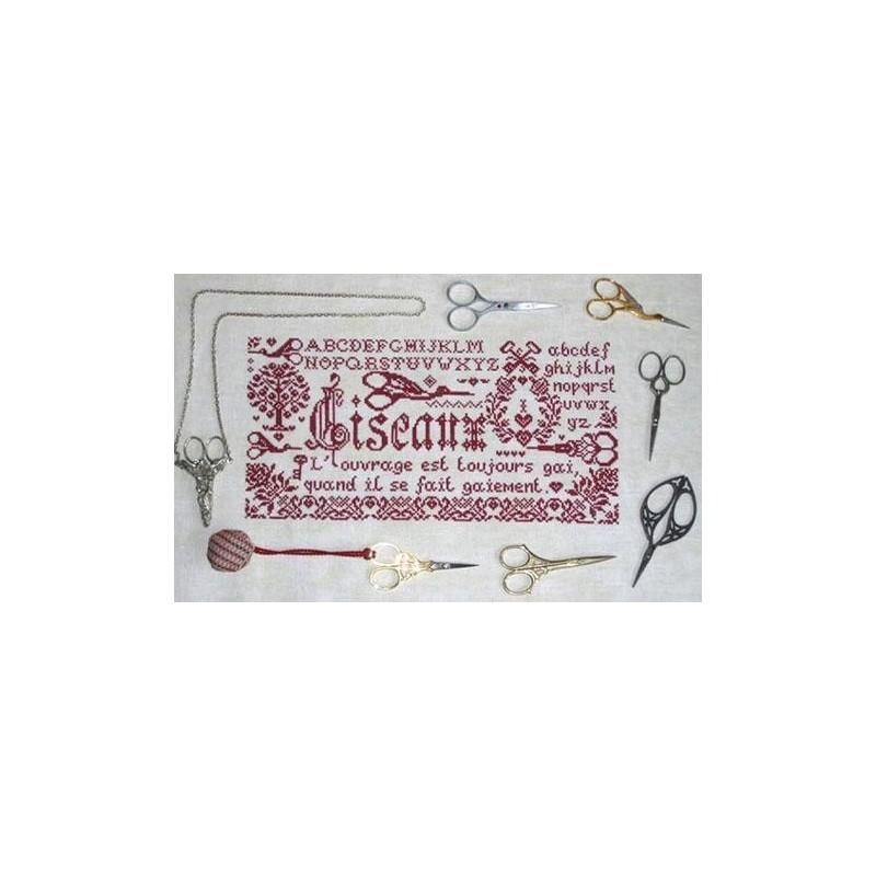 Le marquoir aux ciseaux - Isabelle Haccourt Vautier