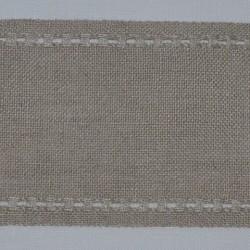Bande de lin DMC 11fils/cm largeur 8cm couleur lin