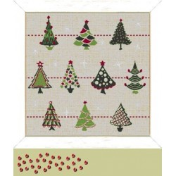 Collection de sapins - Lilipoints