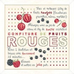 Confiture de fruits rouges - Lilipoints