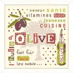 L'huile d'olive - Lilipoints