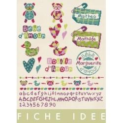 """Fiche """"idée"""" naissance- Lilipoints"""