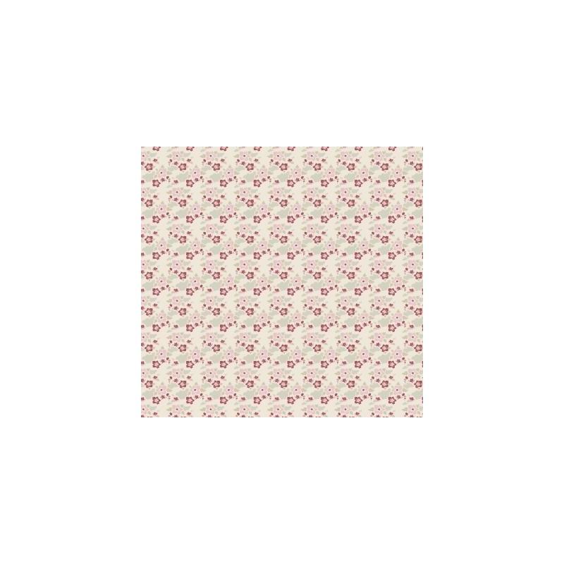 Zoe White - coupon 50x55cm - tissu Tilda