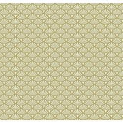 Flower Fan Olive - coupon 50x55cm - tissu Tilda - Livrable à partir de mi-février 2015