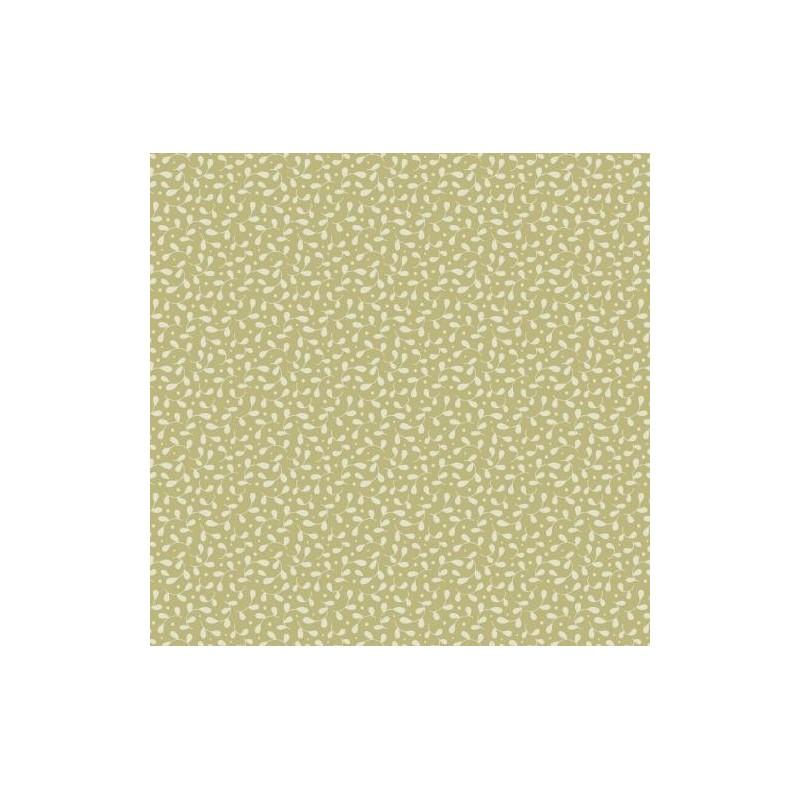 Leaves & Berries Olive - coupon 50x110cm - tissu Tilda - Livrable à partir de mi-février 2015