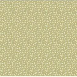 Leaves & Berries Olive - coupon 50x55cm - tissu Tilda - Livrable à partir de mi-février 2015