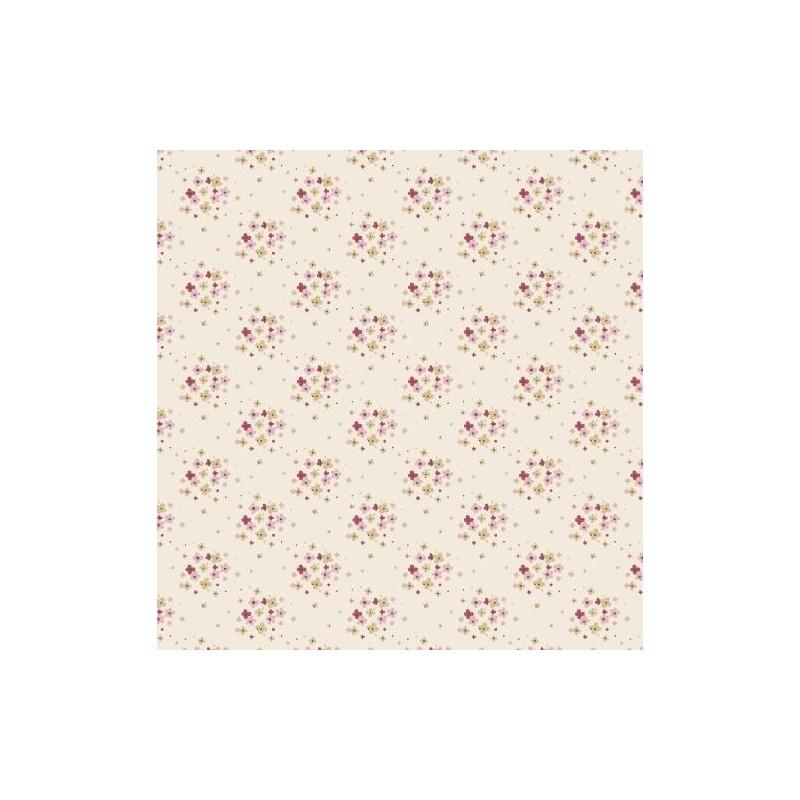 Jean Dove White - coupon 50x55cm - tissu Tilda - Livrable à partir de mi-février 2015