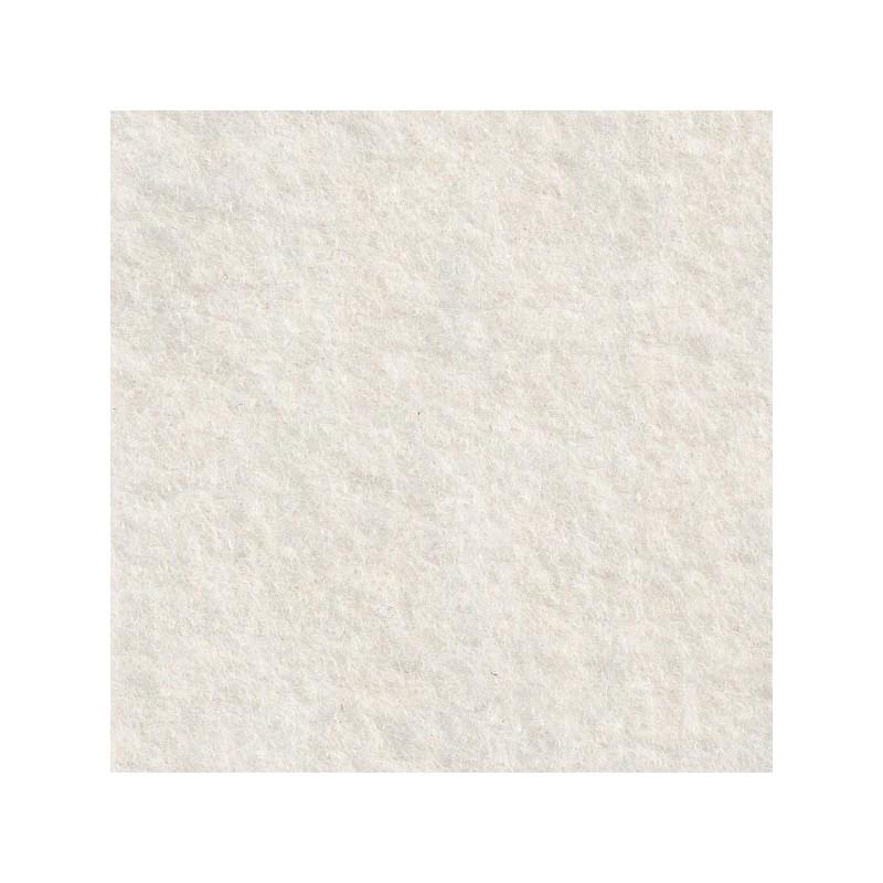 Feutrine de laine 30x45cm - blanc - The Cinnamon Patch