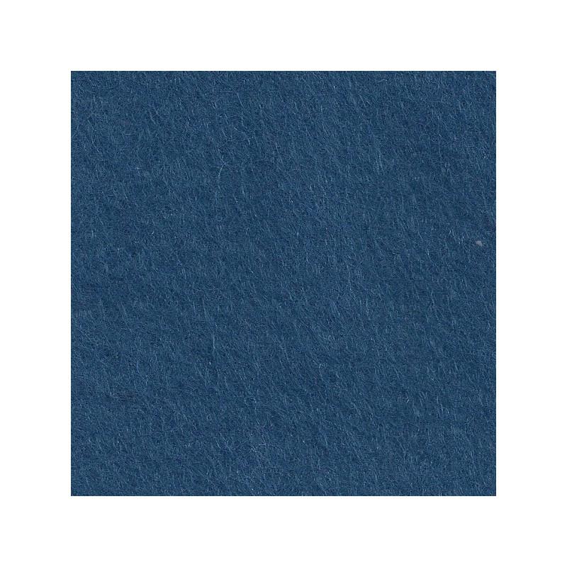 Feutrine de laine 22x30cm - mer profonde - The Cinnamon Patch