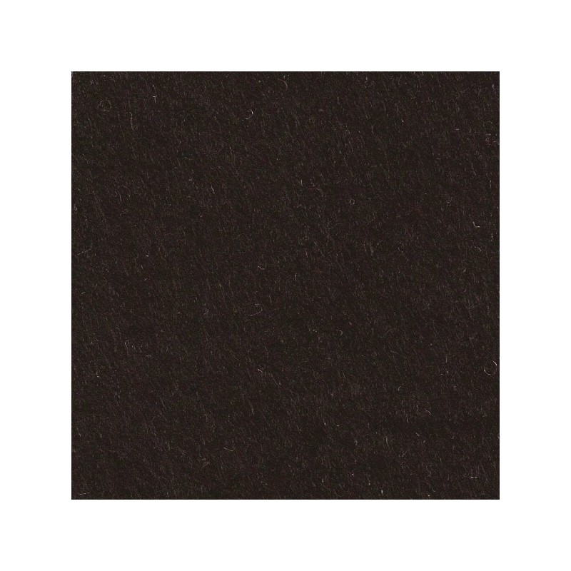 Feutrine de laine 30x45cm - noir - The Cinnamon Patch