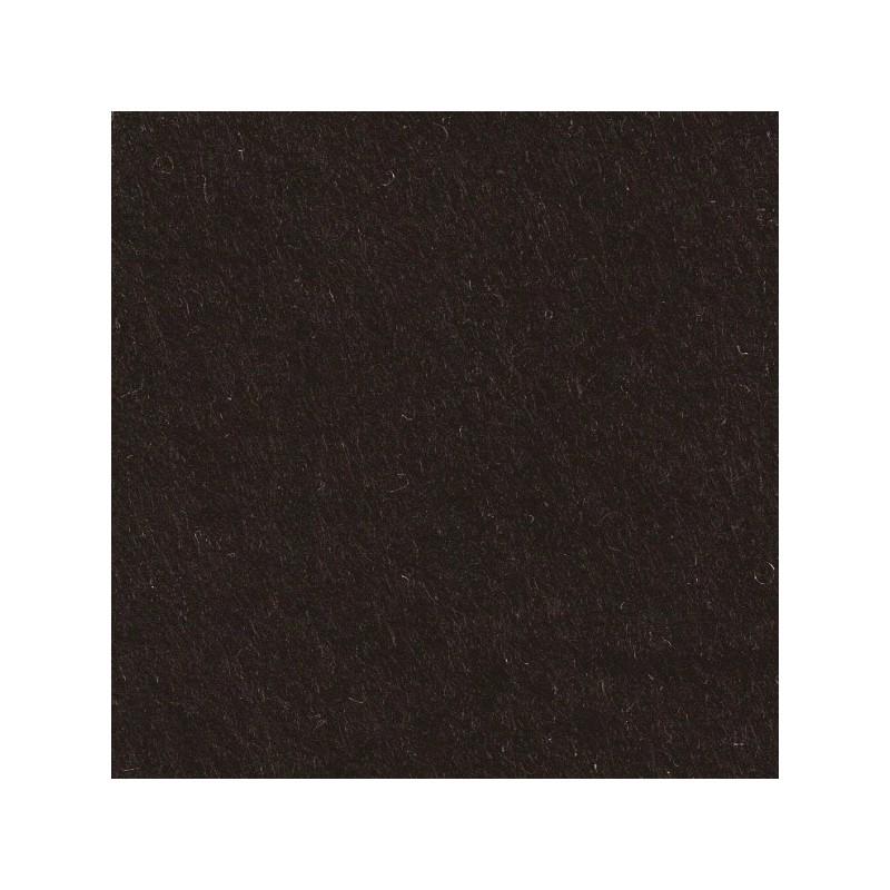 Feutrine de laine 22x30cm - noir - The Cinnamon Patch