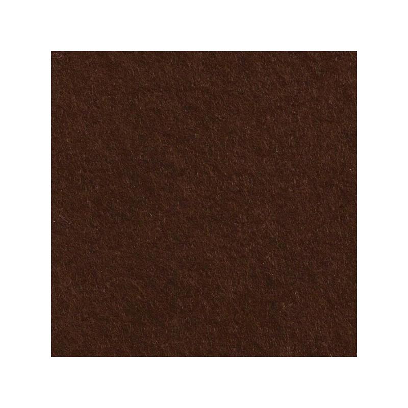 Feutrine de laine 30x45cm - marronnier - The Cinnamon Patch