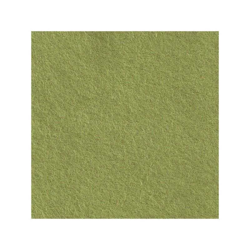 Feutrine de laine 22x30cm - vert tendre - The Cinnamon Patch