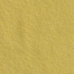 Feutrine de laine 30x45cm - jaune tendre - The Cinnamon Patch