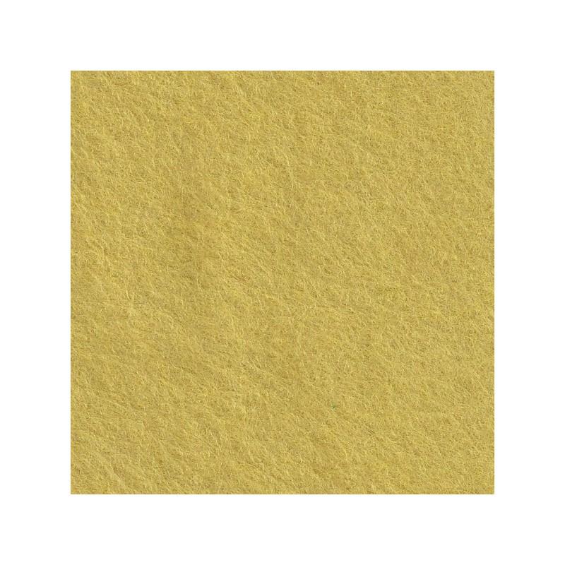 Feutrine de laine 22x30cm - jaune tendre - The Cinnamon Patch