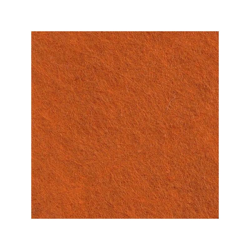 Feutrine de laine 22x30cm - crème de citrouille - The Cinnamon Patch