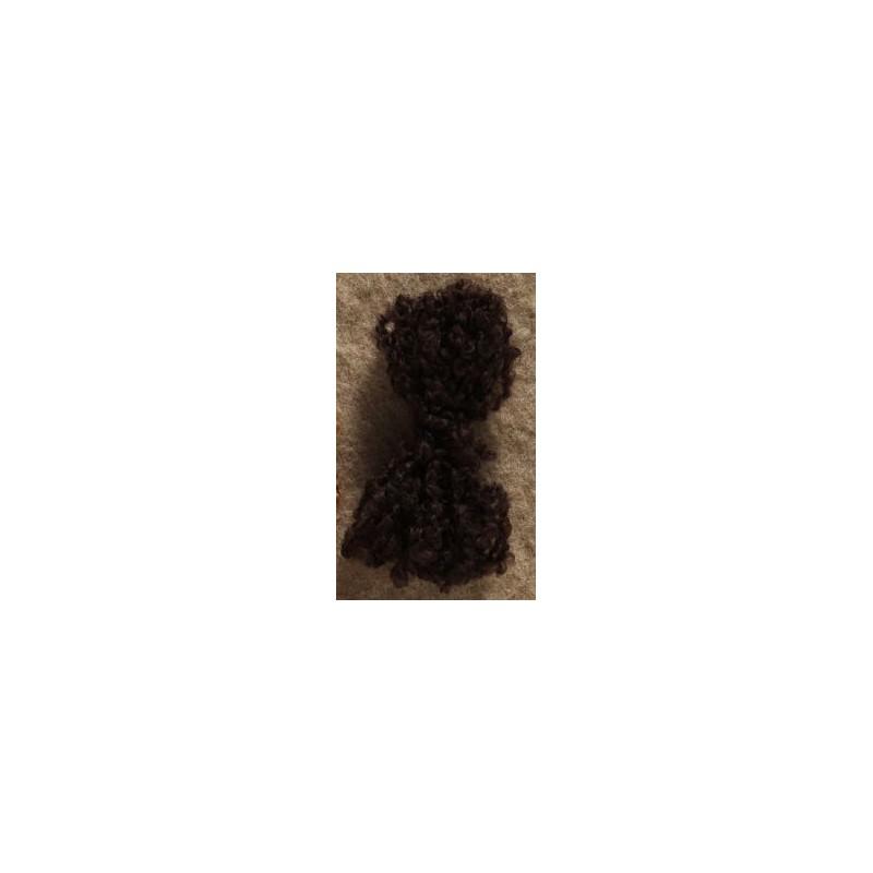Cheveux pour poupées Tilda - brun