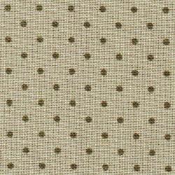 Toile Murano Zweigart 12,6fils/cm - 50x70cm - lin à petits points taupe foncé