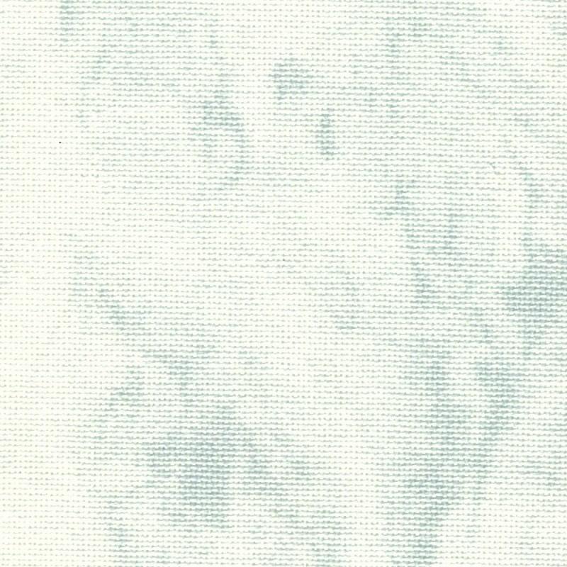 Toile Murano Zweigart 12,6fils/cm 35x45cm - blanc marbré gris