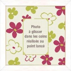 Les fleurs vives - Lilipoints - Livrable sous 10 jours