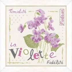 La violette - Lilipoints - Livrable à partir du 12.03.2015
