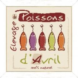 Poissons d'avril - Lilipoints - Livrable sous 10 jours