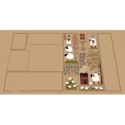 Histoires de moutons 3 - Jardin privé - Livrable sous 10 jours