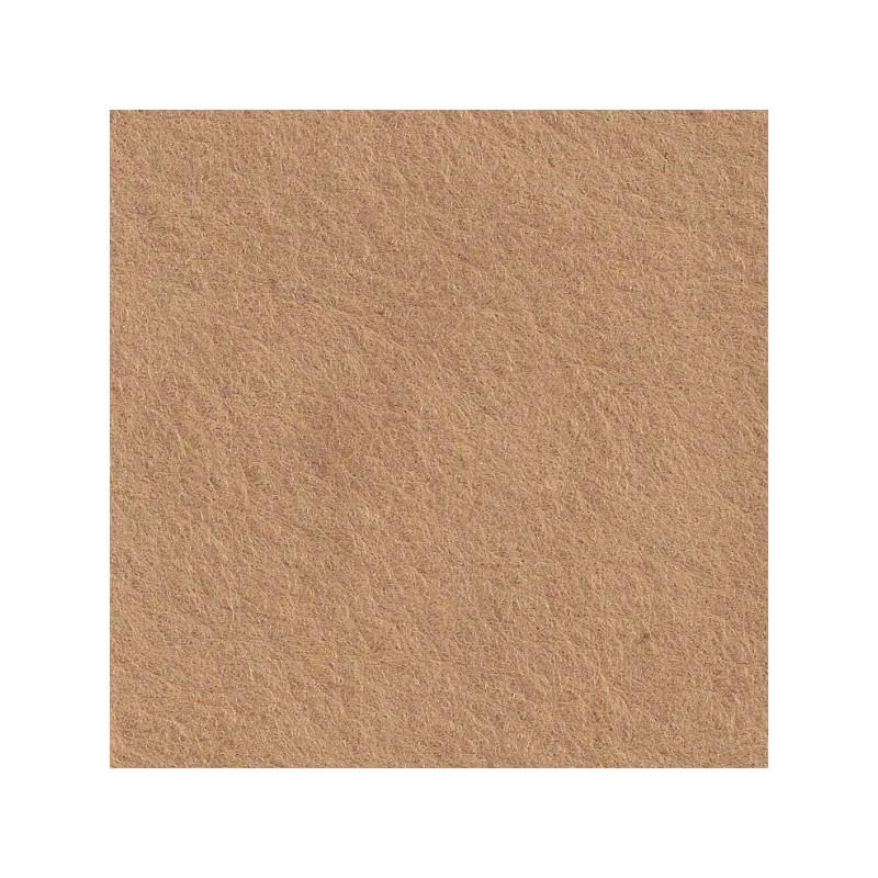 Feutrine de laine 22x30cm - beige - The Cinnamon Patch