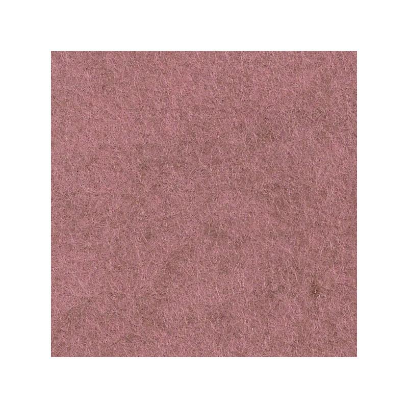 Feutrine de laine 30x45cm - rose camay - The Cinnamon Patch