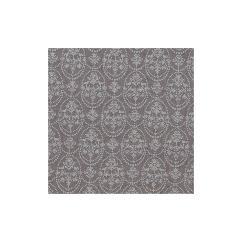 Bird Ornament Grey - coupon 50x140cm - tissu Tilda