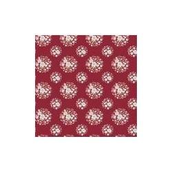 Thula Carmine Red - coupon 50x110cm - tissu Tilda