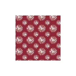 Thula Carmine Red - coupon 50x55cm - tissu Tilda