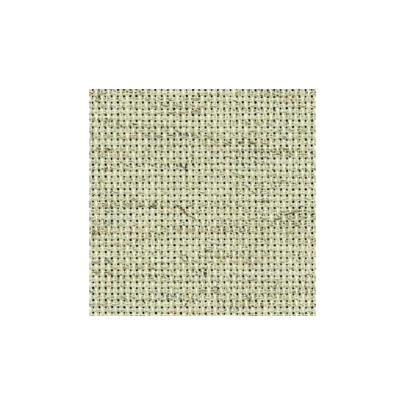 Aïda Zweigart 7,0pts/cm - 50x55cm - chiné clair
