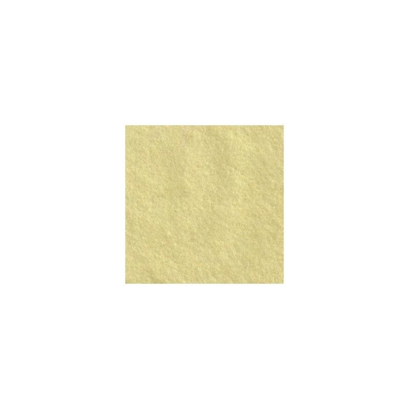 Feutrine de laine 22x30cm - beurre frais - The Cinnamon Patch
