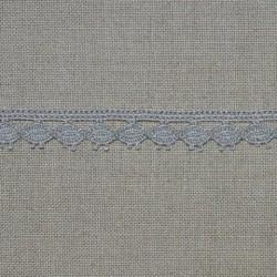 Dentelle fantaisie - gris - 100% coton - 13mm