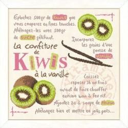 La confiture de kiwis à la vanille - Lilipoints
