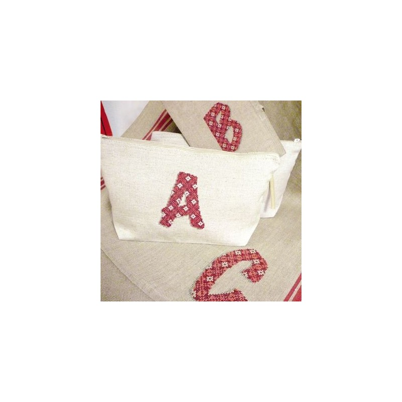 """Alphabet complet """"textile"""" - Lilipoints"""
