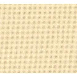 Toile Lugana Zweigart 10fils/cm - 50x70cm -  crème foncé