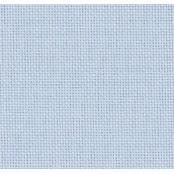 Toile Lugana Zweigart 10fils/cm - 50x70cm - bleu lavande