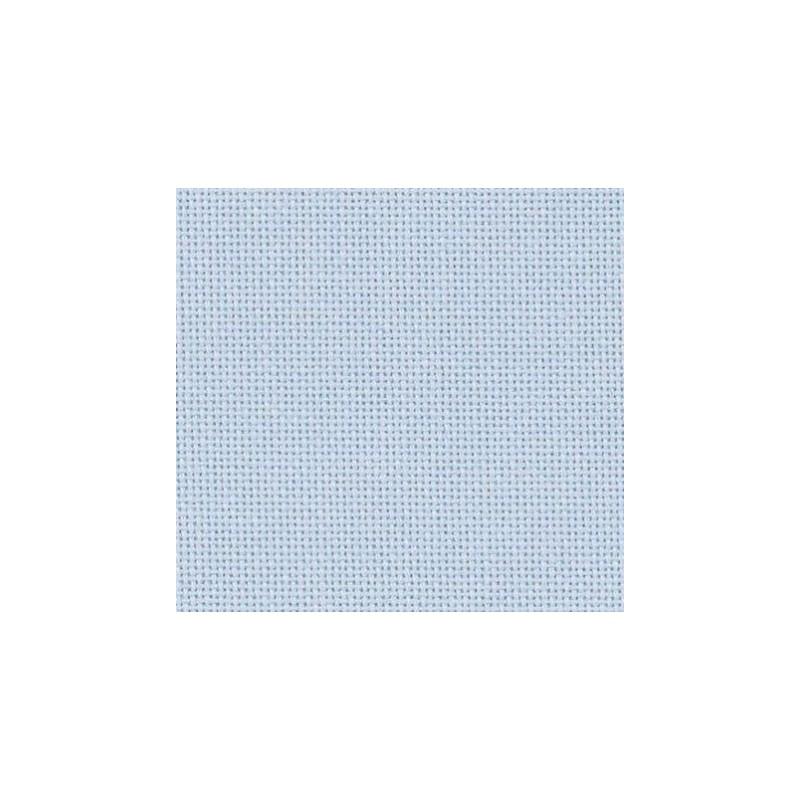 Toile Lugana Zweigart 10fils/cm 48x70cm bleu lavande