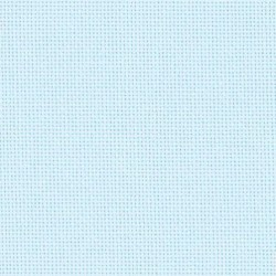 Toile Lugana Zweigart 10fils/cm 48x70cm bleu pâle